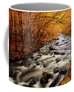 Autumn On The Little River Coffee Mug