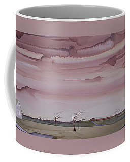 Autumn Skies On The Kirby Farm Coffee Mug