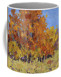 Coffee Mug featuring the painting Autumn Treasure by David King