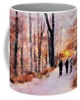 Autumn Walkers Coffee Mug