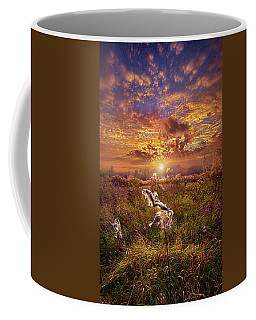 Coffee Mug featuring the photograph Autumn Wings by Phil Koch