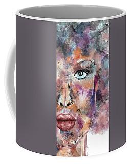 Autumn - Woman Abstract Art Coffee Mug