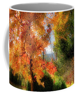 Coffee Mug featuring the photograph Autumnal Glory by Edmund Nagele