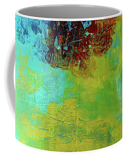Coffee Mug featuring the painting Avant-grande Scenery  by Arttantra