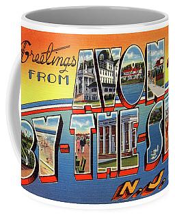 Avon-by-the-sea Greetings Coffee Mug