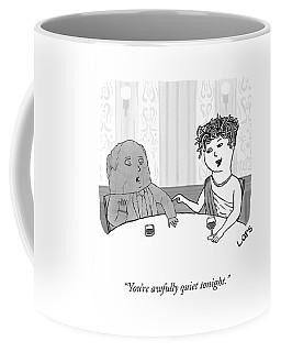Awfully Quiet Coffee Mug