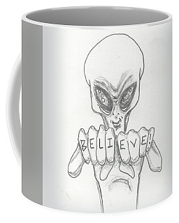 B-e-l-i-e-v-e Coffee Mug