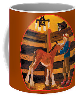 Baby Cricket's Kiss Coffee Mug