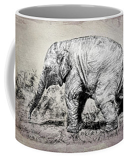 Baby Elephant Walk Coffee Mug