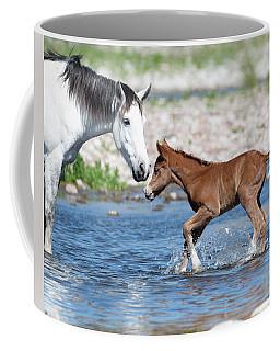 Baby's First River Trip Coffee Mug