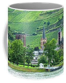 Coffee Mug featuring the photograph Bacharach, Germany, On The Rhine by Kay Brewer