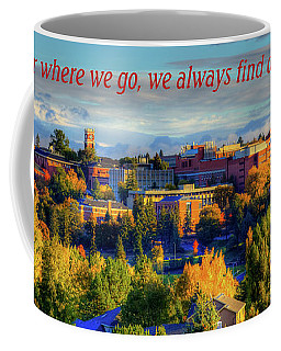 Coffee Mug featuring the photograph Back Home 3 by David Patterson