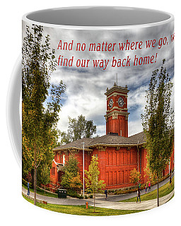 Coffee Mug featuring the photograph Back Home by David Patterson