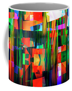 Coffee Mug featuring the digital art Back To The Future by Edmund Nagele