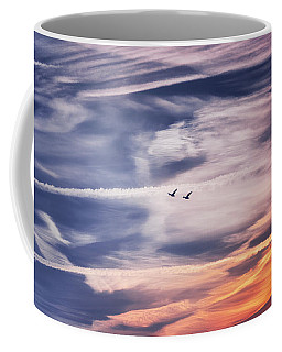 Coffee Mug featuring the photograph Back To The Sky by Jaroslav Buna