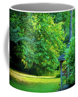 Coffee Mug featuring the photograph Backyard Beauty by Barry Jones