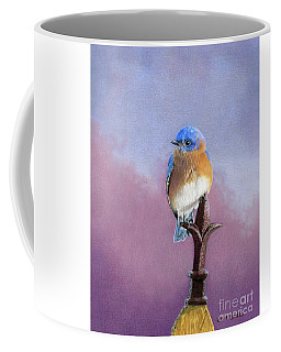 Backyard Bluebird Coffee Mug