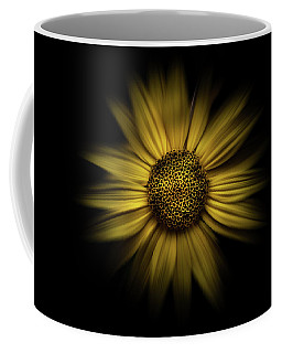 Coffee Mug featuring the photograph Backyard Flowers 18 Color Flow Version by Brian Carson