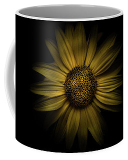 Coffee Mug featuring the photograph Backyard Flowers 18 Color Version by Brian Carson