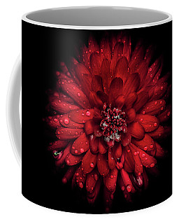 Coffee Mug featuring the photograph Backyard Flowers 45 Color Version by Brian Carson