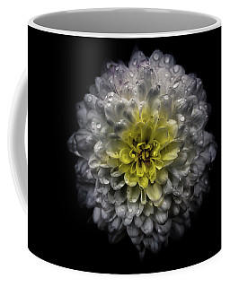 Coffee Mug featuring the photograph Backyard Flowers 46 Color Version by Brian Carson
