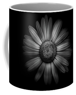 Coffee Mug featuring the photograph Backyard Flowers In Black And White 31 by Brian Carson