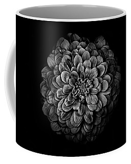 Coffee Mug featuring the photograph Backyard Flowers In Black And White 54 by Brian Carson