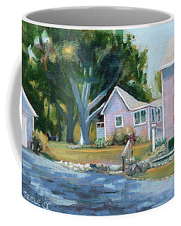 Backyard Trees Coffee Mug