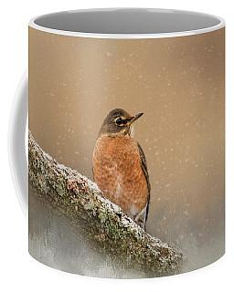 Backyard Visitor Coffee Mug