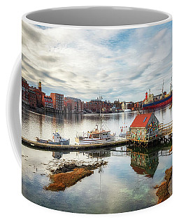 Badger Island And Portsmouth Coffee Mug