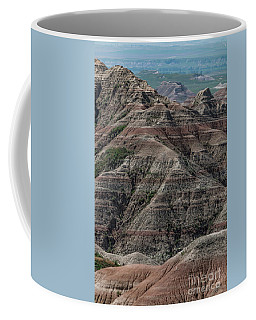 Badlands Portrait Coffee Mug