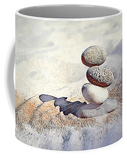 Coffee Mug featuring the digital art Balance by Pennie McCracken