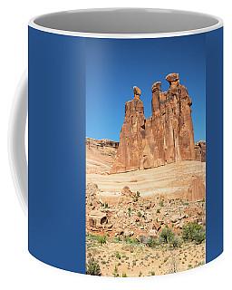 Balanced Rocks In Arches Coffee Mug