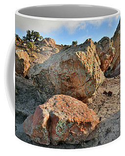 Balanced Rocks In Bentonite Site Coffee Mug