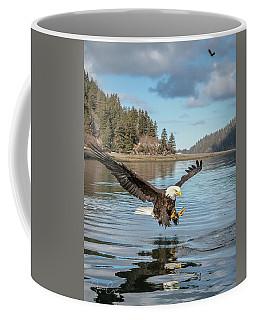Bald Eagle Fishing In Sadie Cove Coffee Mug