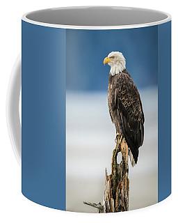 Bald Eagle On Snag Coffee Mug
