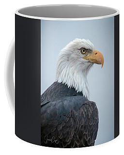 Bald Eagle Profile Coffee Mug