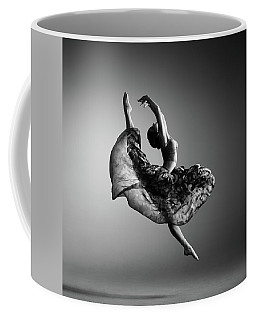 Ballerina Jumping Coffee Mug