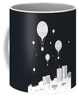 Balloons And The City Coffee Mug