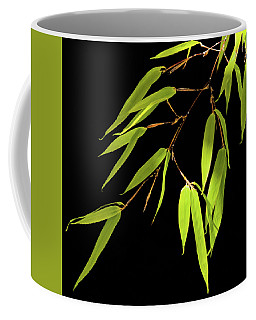 Coffee Mug featuring the photograph Bamboo Leaves 0580a by Mark Shoolery