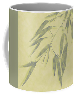 Coffee Mug featuring the photograph Bamboo Leaves 0580b by Mark Shoolery