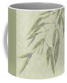 Coffee Mug featuring the photograph Bamboo Leaves 0580c by Mark Shoolery