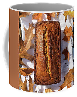 Banana Bread With Rum, Ginger And White Whole Wheat Coffee Mug