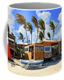 Coffee Mug featuring the photograph Bankie Banxs Dunes Preserve Beach Bar by Ola Allen