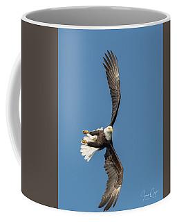 Banking Bald Eagle Coffee Mug