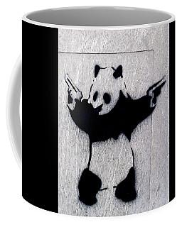 Banksy Panda Coffee Mug