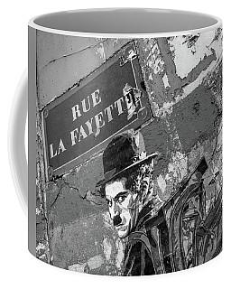 Banksy Rue La Lafayette Coffee Mug