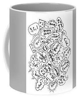 Banter Bubbles From A Comic Creation Coffee Mug