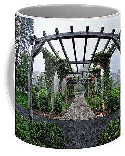Bar Harbor Pergola Coffee Mug