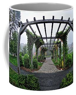 Bar Harbor Pergola Coffee Mug